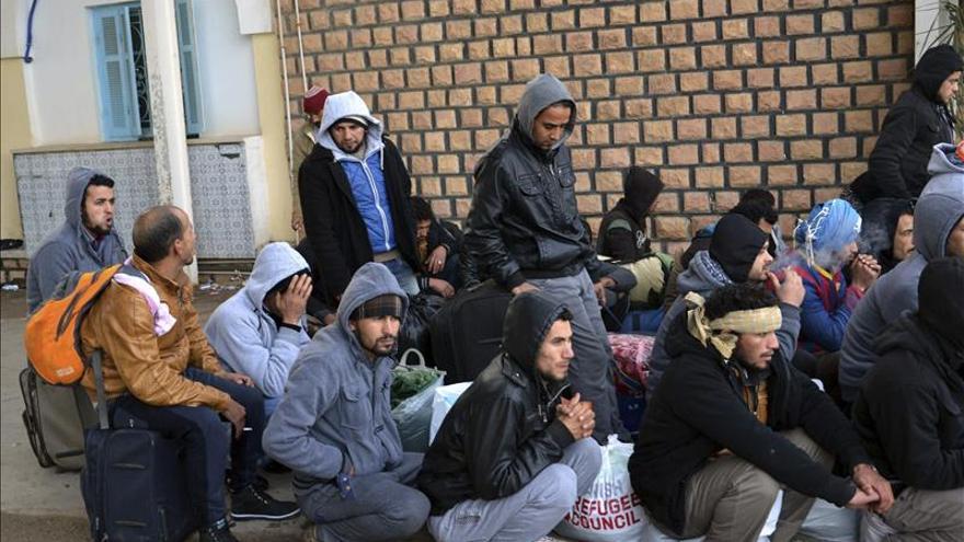 Repatriados 192 egipcios desde Libia