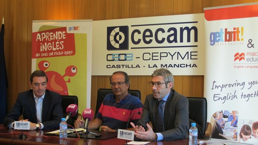 Rueda de prensa de los libreros de Castilla-La Mancha, hoy, en CECAM