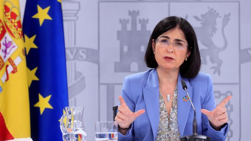 La ministra de Sanidad, Carolina Darias. EFE/ Fernando Alvarado/Archivo