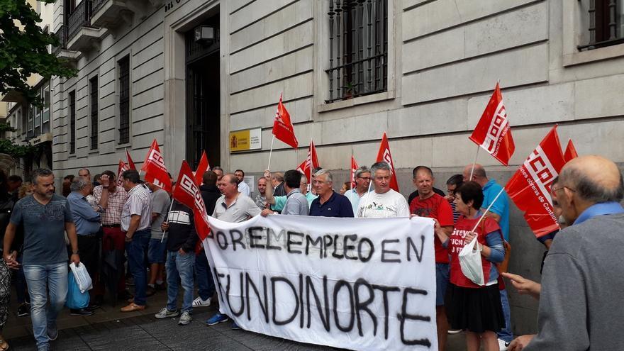 AMPL Los trabajadores de Fundinorte reclaman al Gobierno una solución