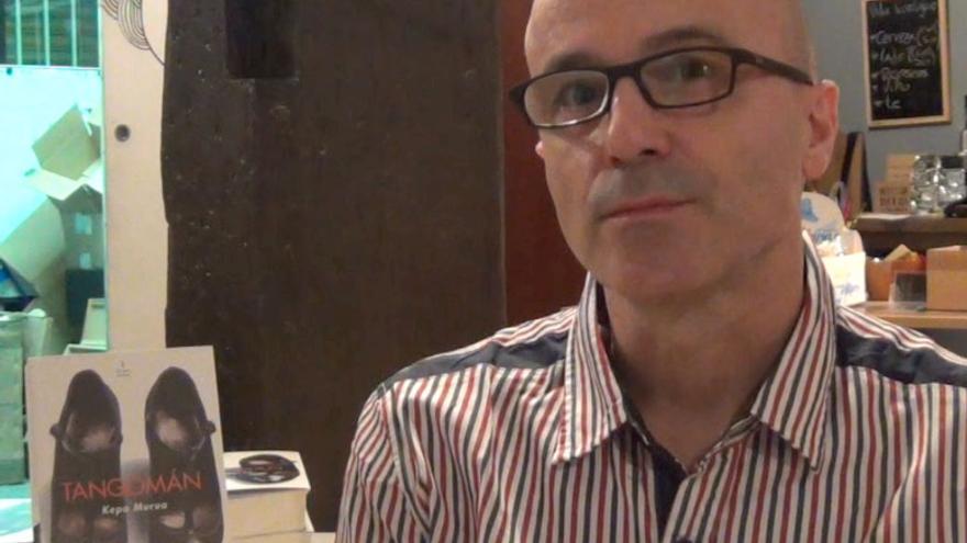 El autor vasco Kepa Murua acaba de publicar su novela 'Tangomán' con la editorial 'El Desvelo.