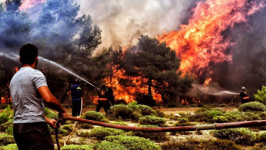 La cifra de muertos por los incendios en Grecia asciende a 79