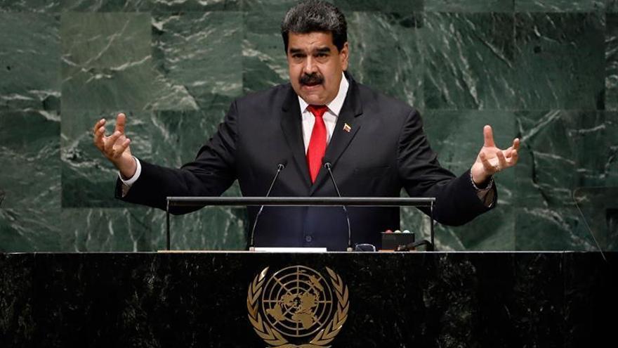 Maduro dio el discurso más largo en esta Asamblea de la ONU, con 48 minutos