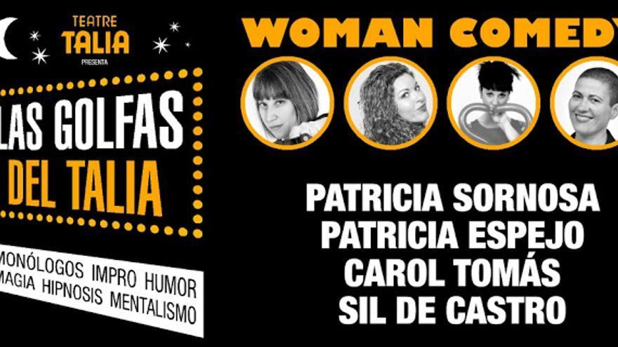 El cartel del espectáculo de humor que realiza este fin de semana el Teatre Talia
