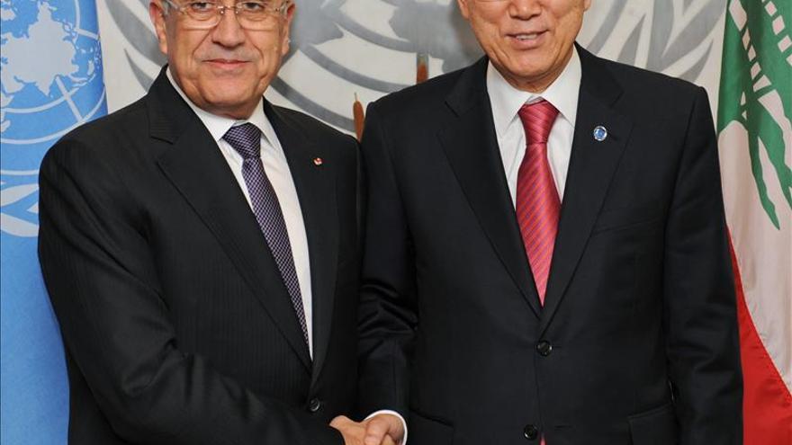 La ONU invita oficialmente al Líbano a la conferencia de paz de Ginebra 2