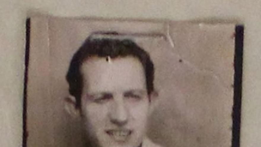 Una foto del policía de la Brigada Político Social Roberto Conesa de 1940.