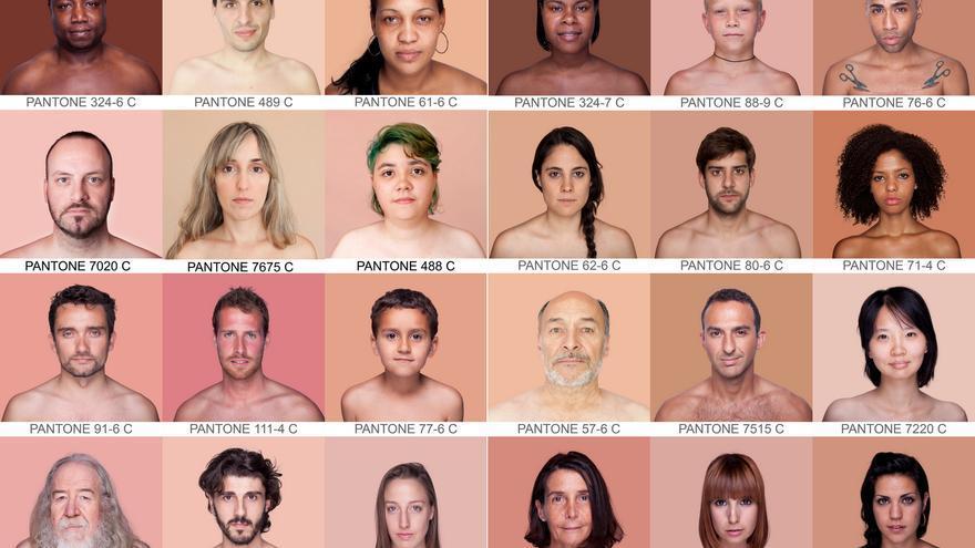 Las diferentes pieles de Angélica Dass