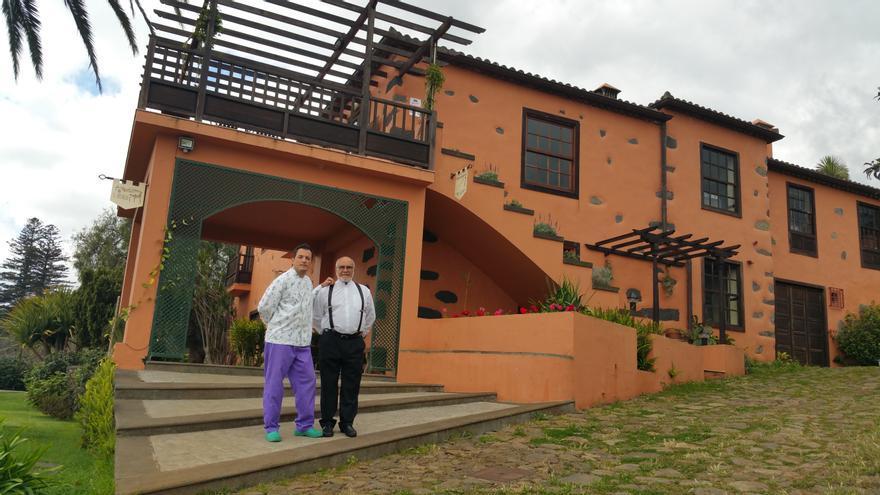 El Ingeniero se localiza en un caserío del siglo XVIII de Breña Alta. Foto: LUZ RODRÍGUEZ.