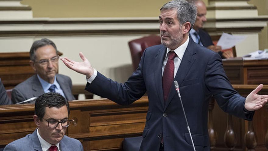 Fernando Clavijo, presidente en funciones del Gobierno de Canarias.