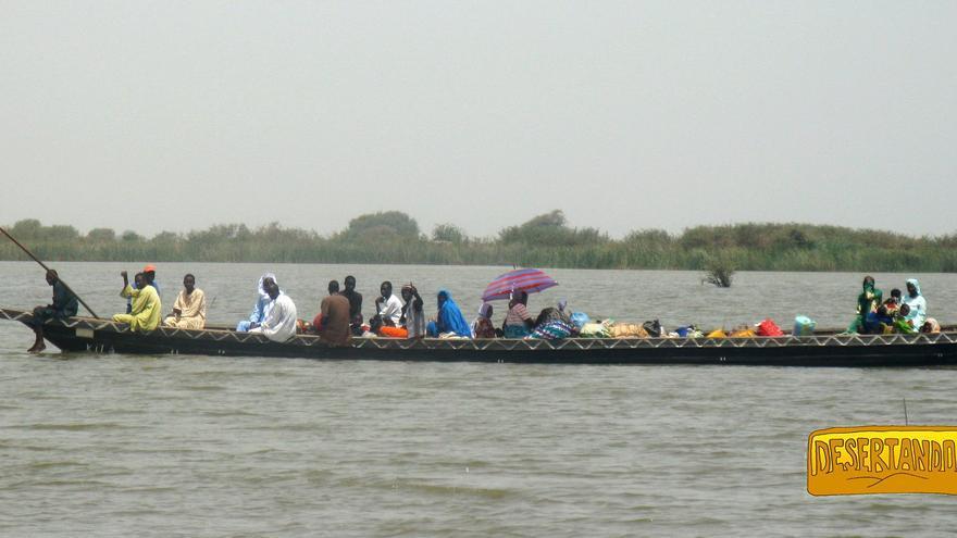 El lago Chad.