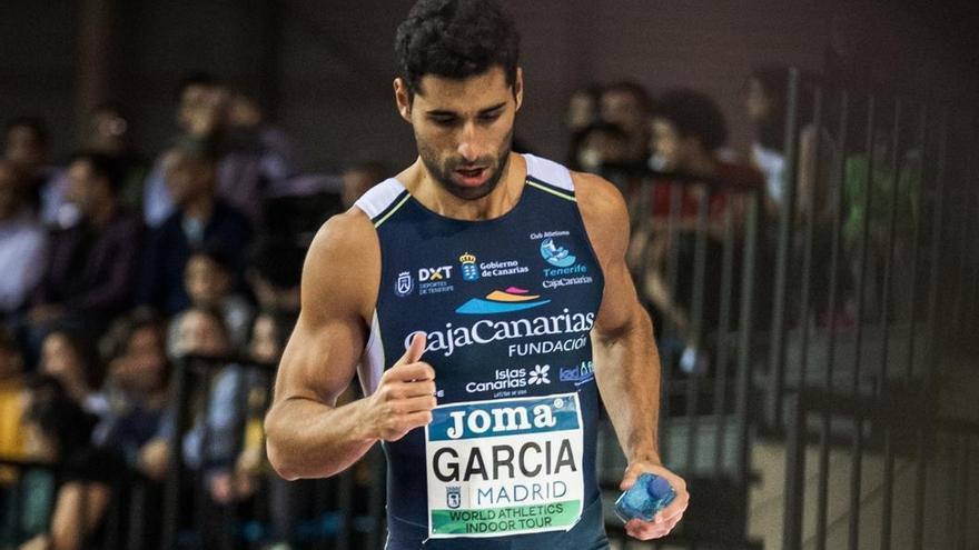 Samuel García logra la marca mínima para el Campeonato Europeo de Atletismo de Invierno de Polonia