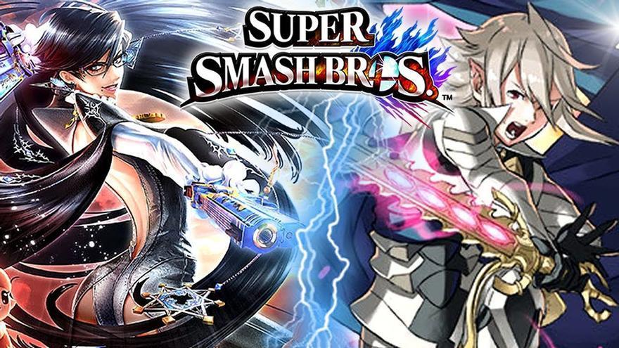 Bayonetta y Corrin Smash Bros.
