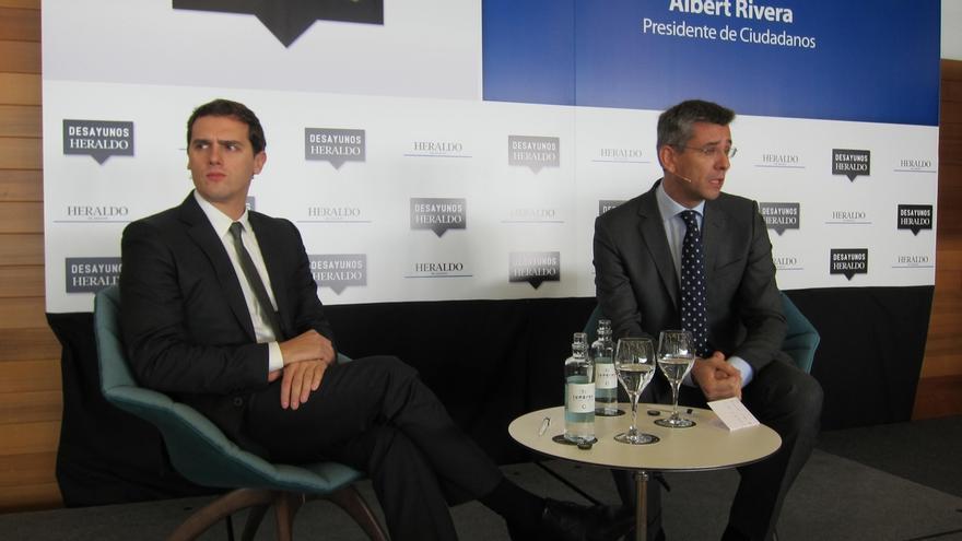 """Rivera (C's): """"Me veo capaz de dialogar y conseguir apoyos para una investidura y un gobierno"""""""