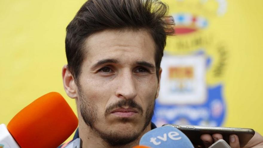 El jugador portugués de la UD Las Palmas Hélder Lopes