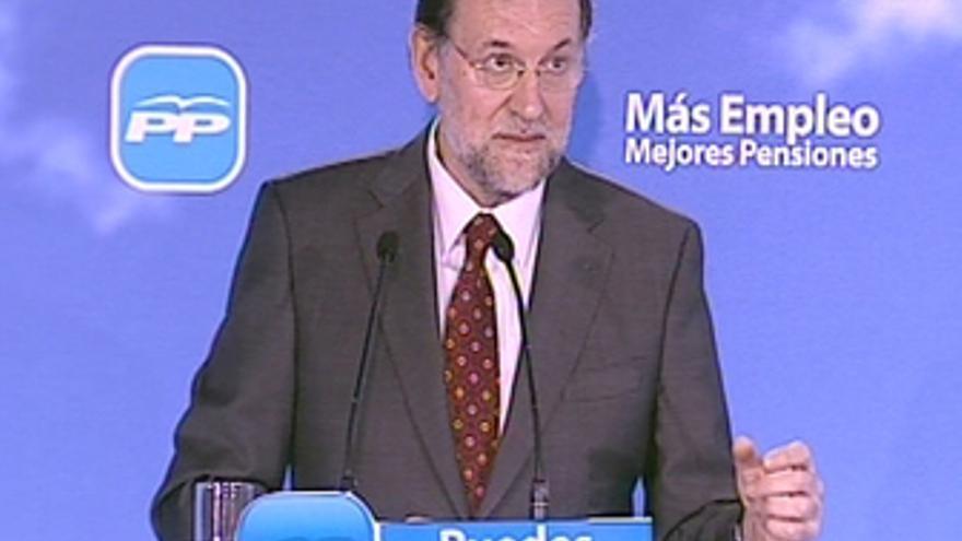 Rajoy exige explicaciones sobre pacto