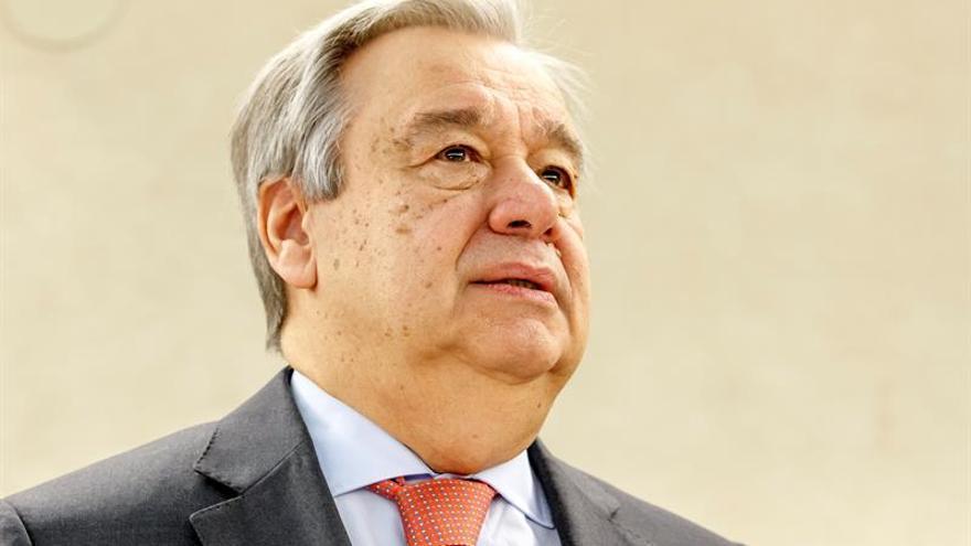 """Guterres dice que la paz en Siria es """"un imperativo que no puede esperar"""""""
