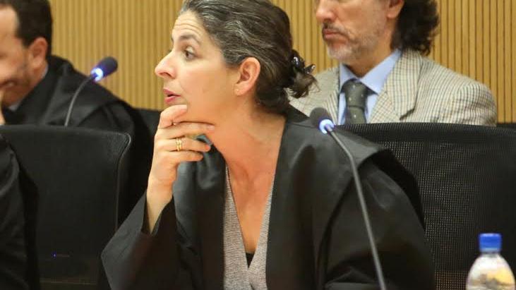 El fiscal Javier Ródenas y la abogada Irma Ferrer. (ALEJANDRO RAMOS)