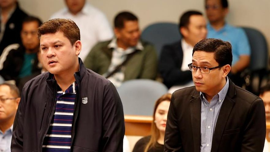 El hijo de Duterte niega en el Senado su implicación con una red de narcotráfico