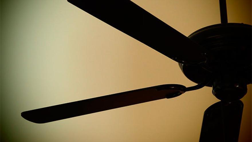 Un ventilador de techo | PIXABAY