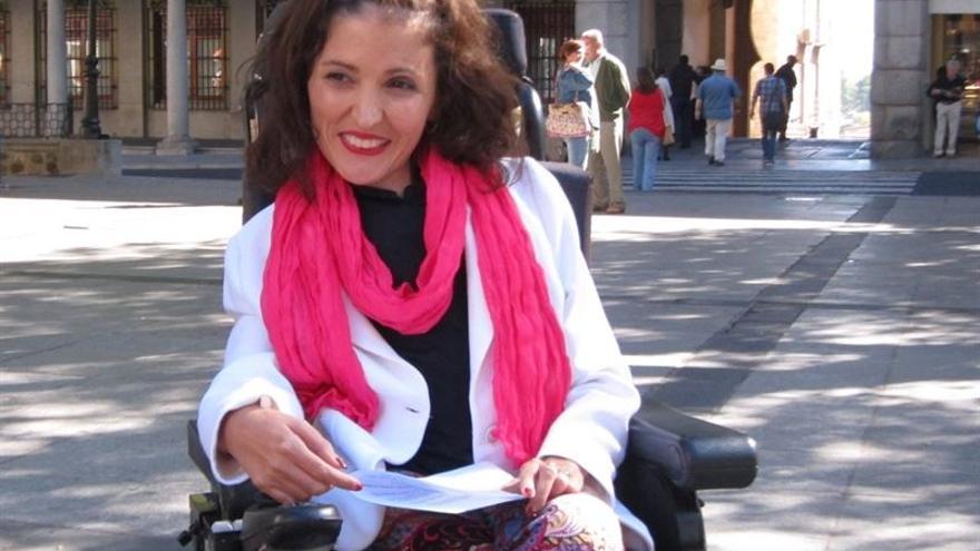 Virginia Felipe, candidata a las primarias autonómicas de Podemos para senadora. FOTO: Europa Press