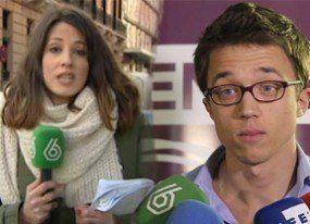 Íñigo Errejón y una reportera de LaSexta, ¿más que amigos?