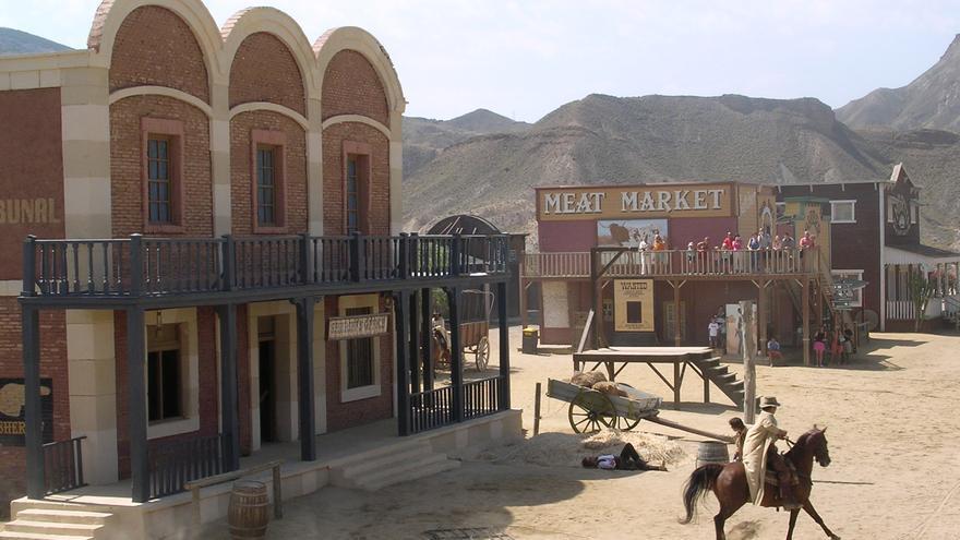 Rodaje de un western