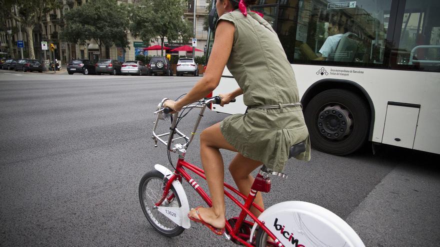 Bicicleta pública en Barcelona/Copenhagenize Design Co.