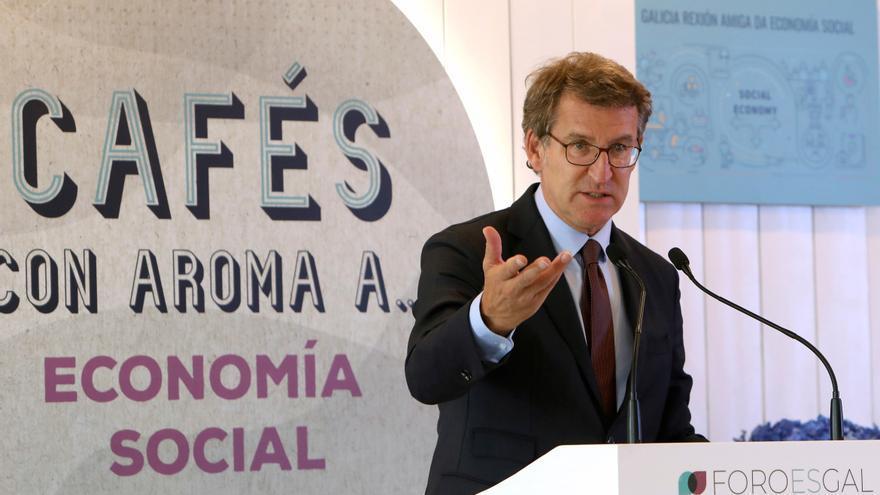 Feijóo aboga por la creación de un clúster de empresas de economía social