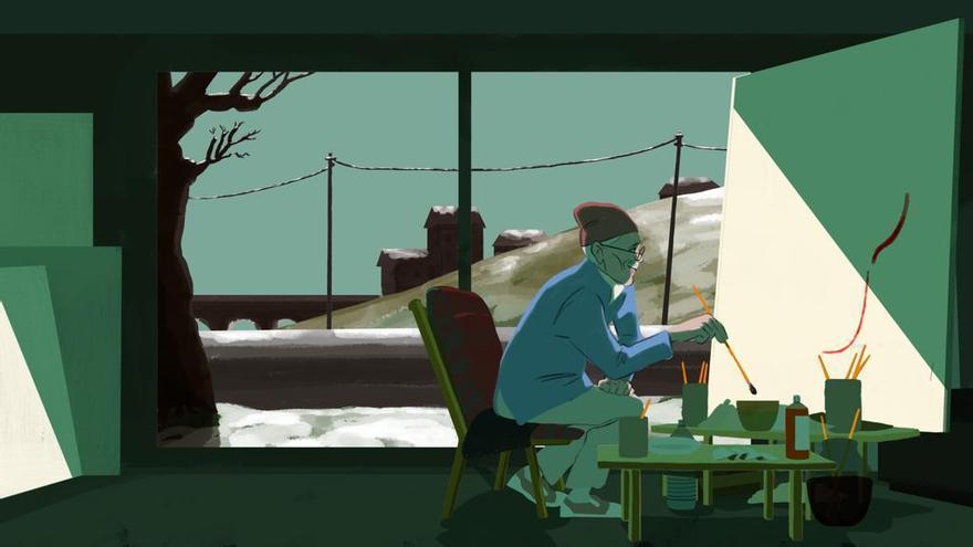 Fragmento del cortometraje 'Buddy Joe' realizado por Julien David.