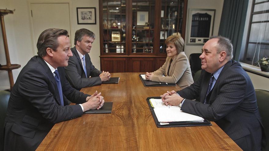 Salmond defenderá ante sus bases las ventajas de una Escocia independiente