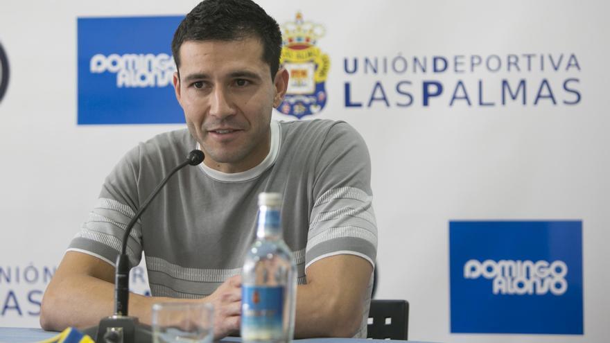 Antolín Alcaraz, defensa de la UD Las Palmas. (UDLASPALMAS.ES)
