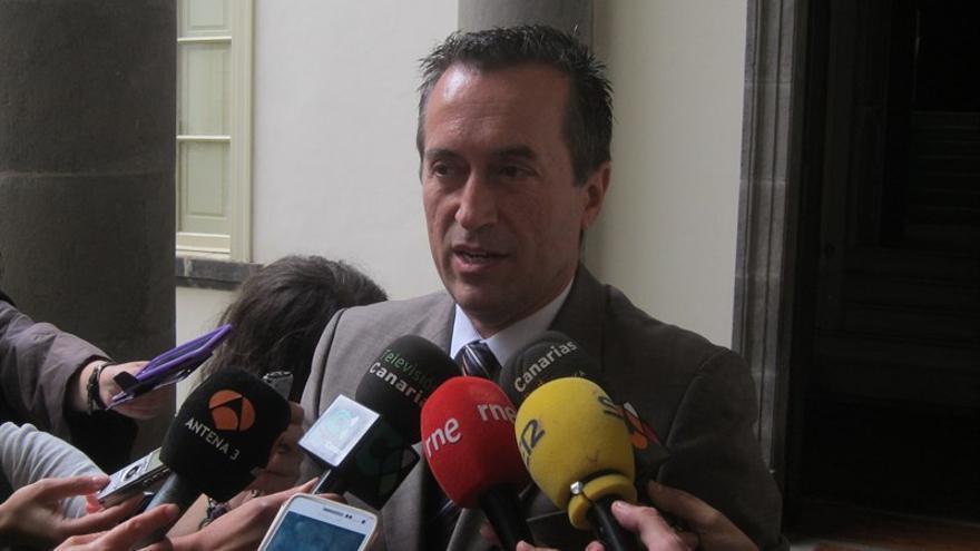 El secretario de Organización de Coalición Canaria (CC), José Miguel Ruano (Europa Press)