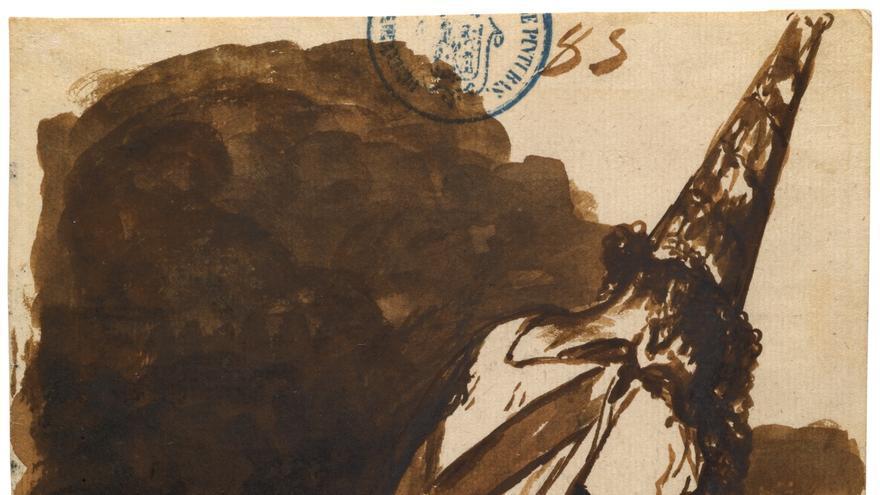 'Por haber nacido en otra parte' (1810 - 1811). GOYA Y LUCIENTES, FRANCISCO DE