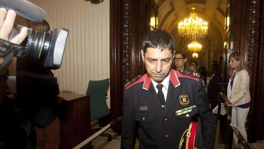 El comisario jefe de los Mossos decidirá personalmente cada posible caso de sedición