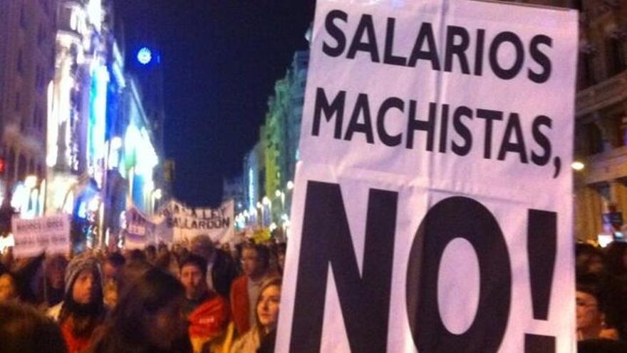La brecha salarial en España es mayor que la media europea