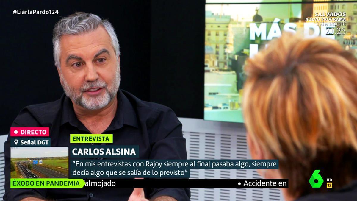 Carlos Alsina en 'Liarla Pardo'