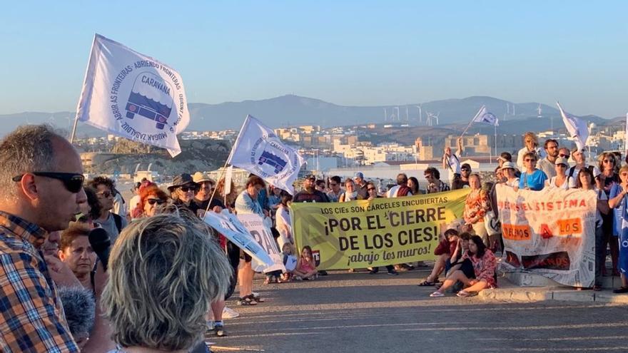 Caravana Abriendo Fronteras en Andalucía /Foto: Caravana