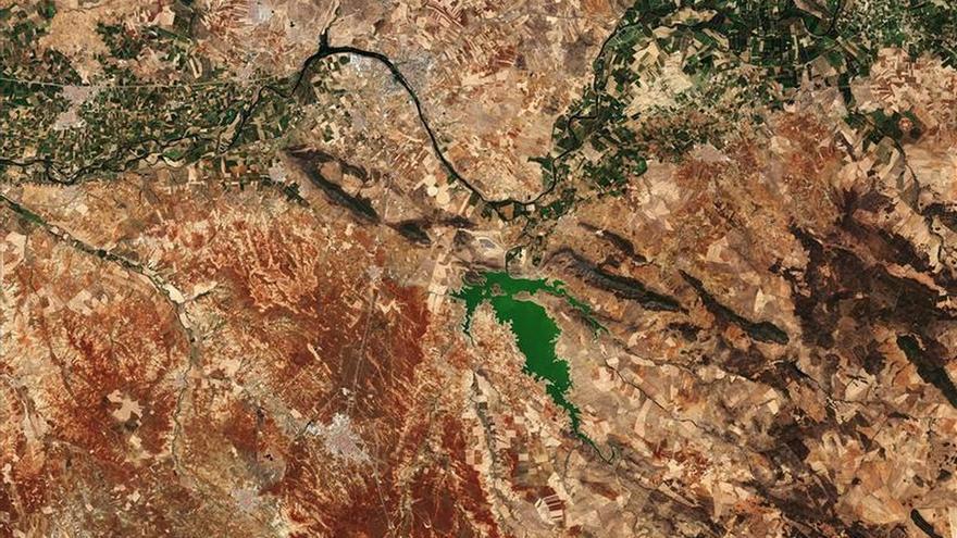 Mérida desde el espacio, foto de la semana de la ESA