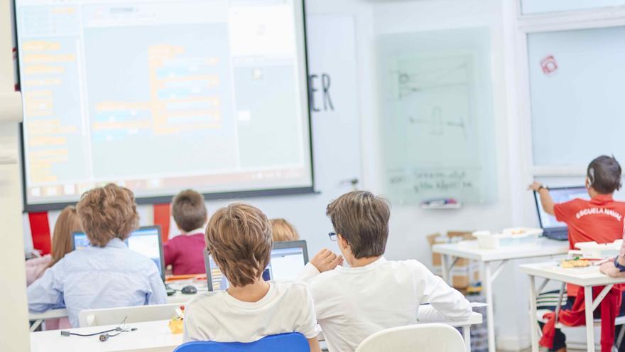 En solo unas pocas horas, los alumnos de los talleres de Scratch pueden crear sus propias animaciones y juegos