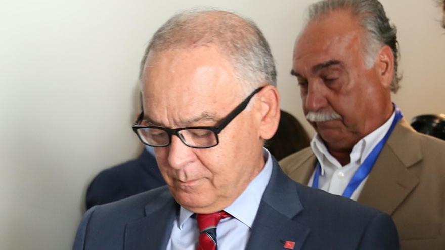 Eugenio Pino Sánchez declara en la comisión del Congreso sobre la utilización partidista del Ministerio del Interior