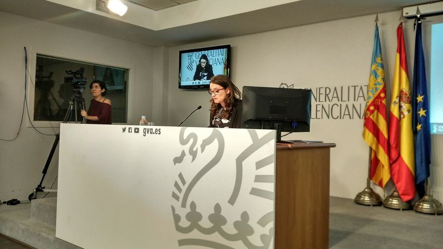 "Oltra insiste en que la Generalitat ha cumplido ""escrupulosamente"" la legalidad con #orgullvalencià"