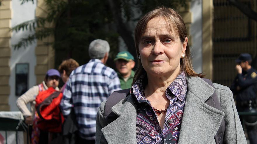 Carmen Bajo, 'contramedalla' de Andalucía.