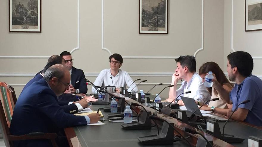 El asesor del PP, Luis Salom, en su declaración en la comisión que investiga el 'caso Taula'