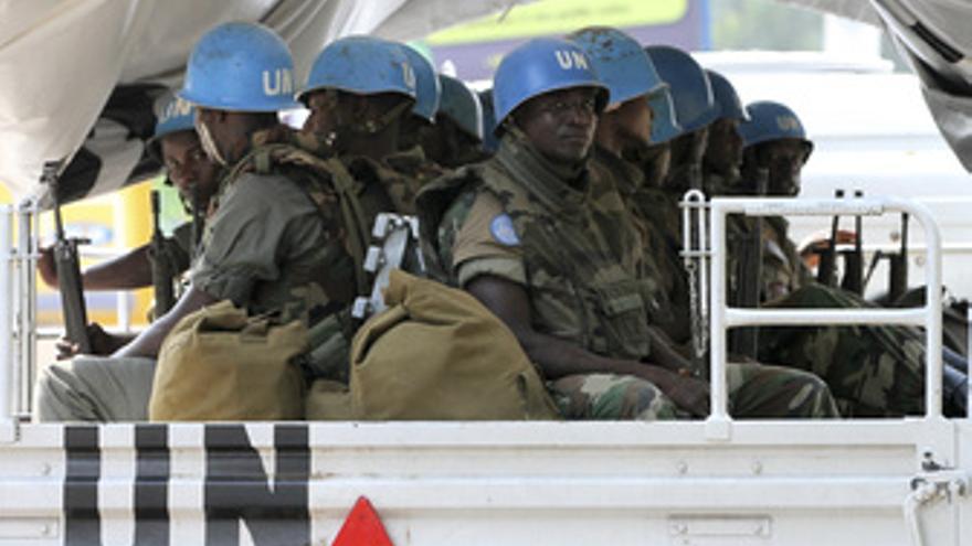 Soldados de la ONU en Costa de Marfil
