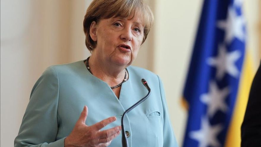 """La cancillería cuelga el vídeo de Merkel y la menor palestina para dar una """"visión global"""""""