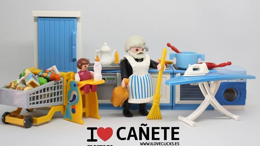 I love disculpas de Cañete