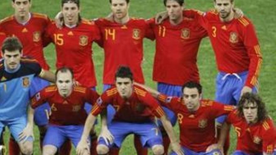 Un reconocimiento más para los futbolistas españoles. (EUROPA PRESS)