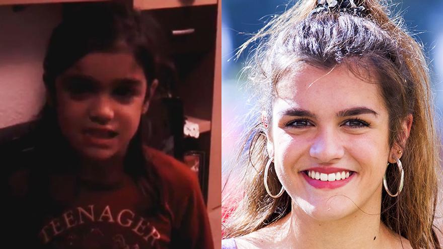 """Amaia desea una """"Feliz Navidad"""" a sus seguidores con un vídeo de cuando era pequeña"""