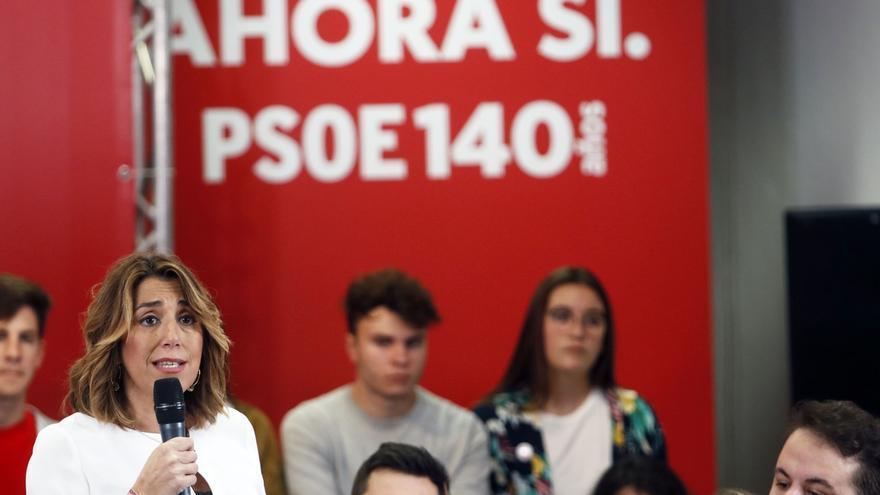 """Susana Díaz pide cambiar las leyes para que sentencias como la de la 'manada de Manresa' """"no se vuelvan a repetir"""""""