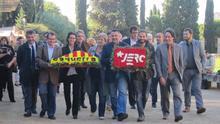 """ERC afirma que el """"mejor homenaje"""" a Companys es un referéndum en 2014 o antes"""